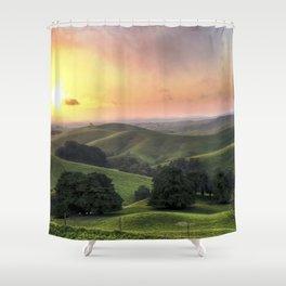 Immortal Fire Shower Curtain