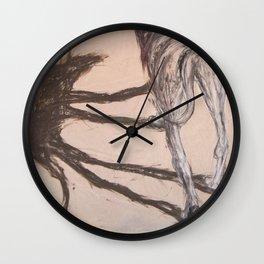 Walking Dog Wall Clock
