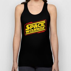 LASER SWORD SPACE WIZARDS Unisex Tank Top