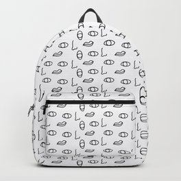 seeing faces Backpack