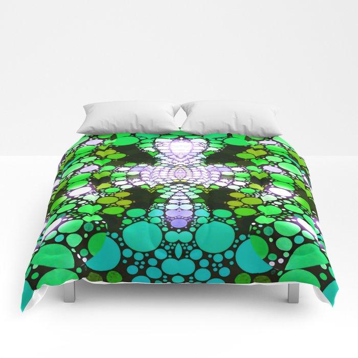 NEON NIGHTS II Comforters