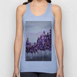 Purple Trees Unisex Tank Top
