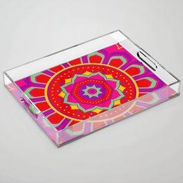 Masala Mandala Acrylic Tray