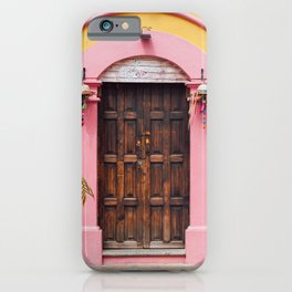 Pink & Yellow iPhone Case
