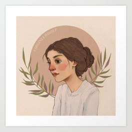 Virgnia Art Print