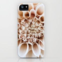 Cafe Au Lait Dahlia iPhone Case