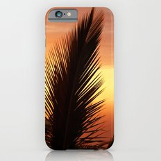 Palm Tree Leafs in the Sunset iPhone 6s Slim Case