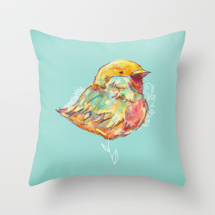 Cru Cru  Throw Pillow