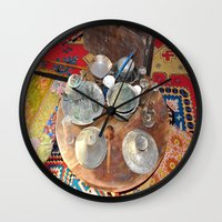 welcome Wall Clocks featuring Welcome by Laake-Photos
