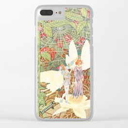 Vintage Thumbelina Book Illustration (1914) Clear iPhone Case