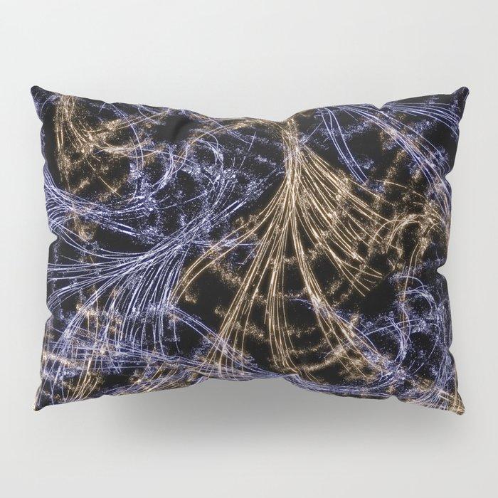 Blue Magical Wisps Pillow Sham