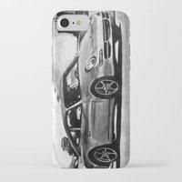porsche iPhone & iPod Cases featuring Porsche  by Marcela Caraballo