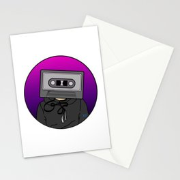 Icelapse Macintosh - Music Inspired Cassette Tape Digital Vector Stationery Cards
