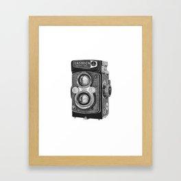 Yashica Vintage Camera Framed Art Print