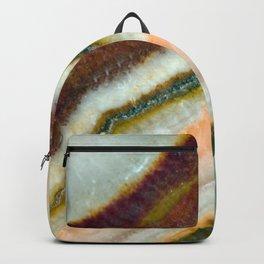 Moss Cafe Quartz Crystal Backpack