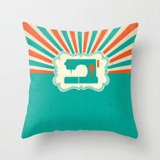Sew-burst Throw Pillow