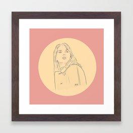 Scarlett // Charlotte Framed Art Print