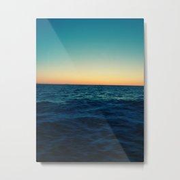 Ocean Skyline Metal Print
