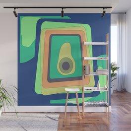 Abstract fashionable powerful art Wall Mural
