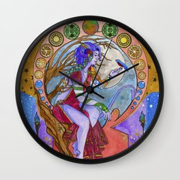 Mollymauk and Robin Wall Clock
