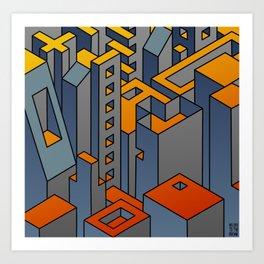 Welcome to the Machine #1 Art Print