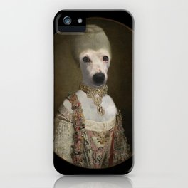 """Marie """"Chien""""toinette iPhone Case"""