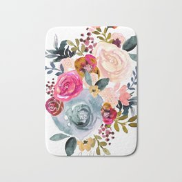 Autumn Rose Bath Mat