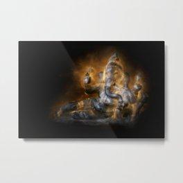 Reclining Ganesha Metal Print