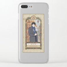 Sherlock Victorian Language of Flowers - Autumn Clear iPhone Case