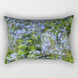 Forget-me-not! Rectangular Pillow