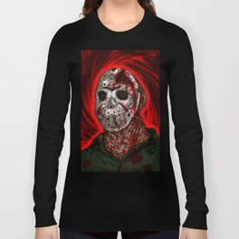 Fornication Terrorist Jason Voorhees Friday the 13th Long Sleeve T-shirt