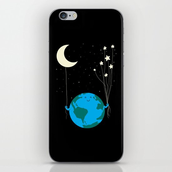 Under the moon and stars iPhone & iPod Skin