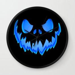 Blue Ghost Wall Clock