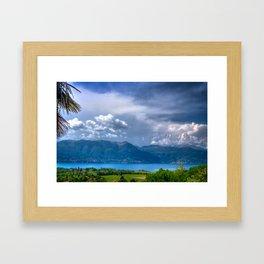 Lago Maggiore Framed Art Print