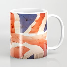 Black Bowler Hat Union Jack Chesterfield Color Coffee Mug
