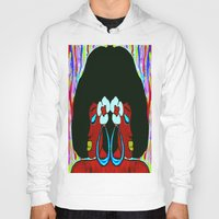 twins Hoodies featuring Twins by Christa Bethune Smith