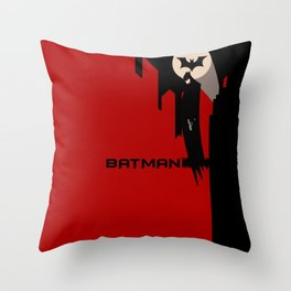 Batsignal version 3.0 Throw Pillow