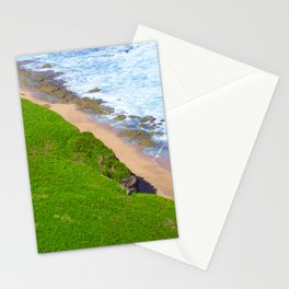 Land Meets Sea Stationery Cards