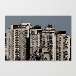 Beneath a Steel Sky Canvas Print