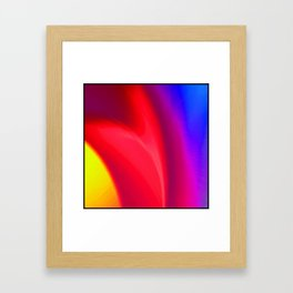 Heart beat Framed Art Print