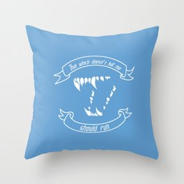 What Doesn't Kill Me Throw Pillow