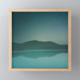Lakeside Drive Framed Mini Art Print