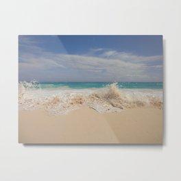 Amongst The Waves - Bermuda Metal Print