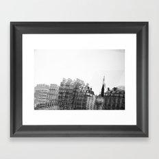 I dreamt in black and white once Framed Art Print
