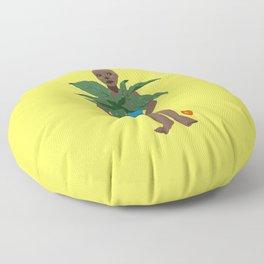All Natural (Yellow) Floor Pillow