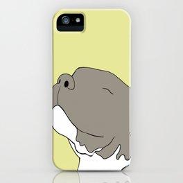 Sunny The Pitbull Puppy iPhone Case
