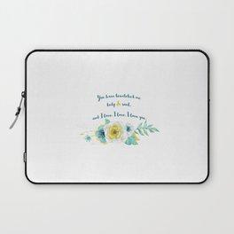 Pride and Prejudice, Jane Austen Laptop Sleeve