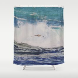 Into the Fray Shower Curtain