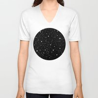 constellations V-neck T-shirts featuring Constellations by Rachel Buske