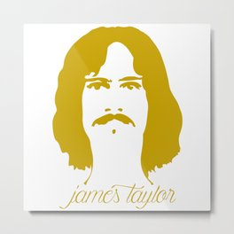 James Taylor Metal Print